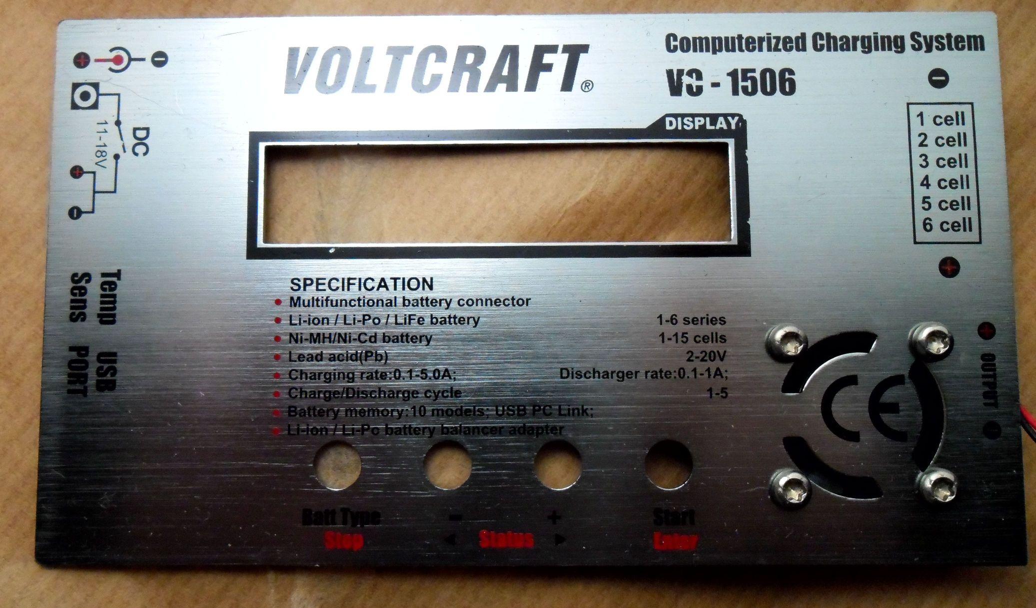 �adowarka Volcraft VC-1506 przesta�a dzia�a�