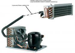 Układu chłodzenia na kompresorze EMT6144Z