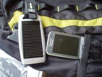Ładowarka solarna - telefon, USB, akumulatorki AA