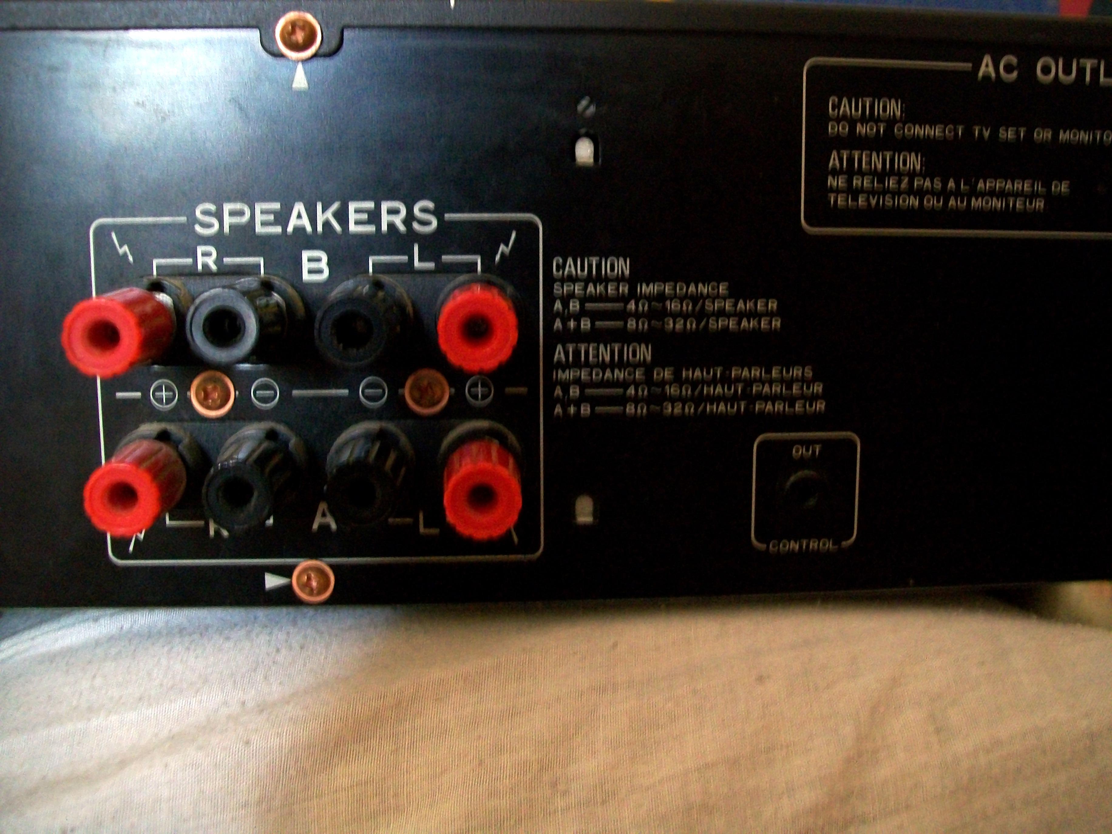 Podłącz głośniki 8 ohm wzmacniacz 4 ohm