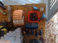 Take Me model: take me 350 - identyfikacja elementu czy to termistor?
