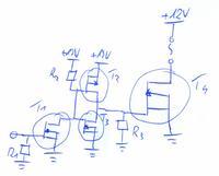 Dobór tranzystora do istniejącego schematu.