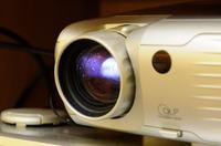 Projektor DELL 3300MP nie świeci przez środek obiektywu