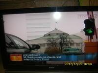 Sony Bravia KDL-40Z4500 LCD  - Poziome paski na obrazie