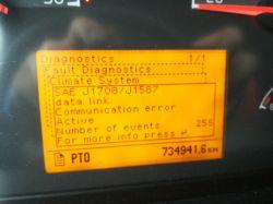 Volvo fm 9 - Schemat instalacji elektrycznej