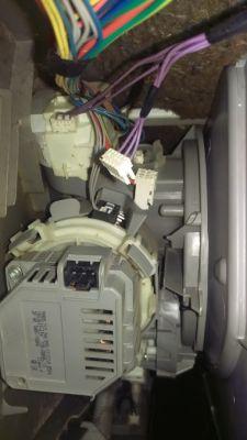 Zmywarka Bosch SMS58L02EU/01 - Pompogrzałka - błąd E09