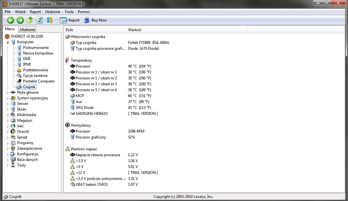 MSI K9N6PGM2-V2, AMD Phenom X4 9550, HD 3850 - wy��cza si� podczas grania