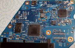 Przepięcie, zasilanie 12V zamiast 5V, PCB: G003220A