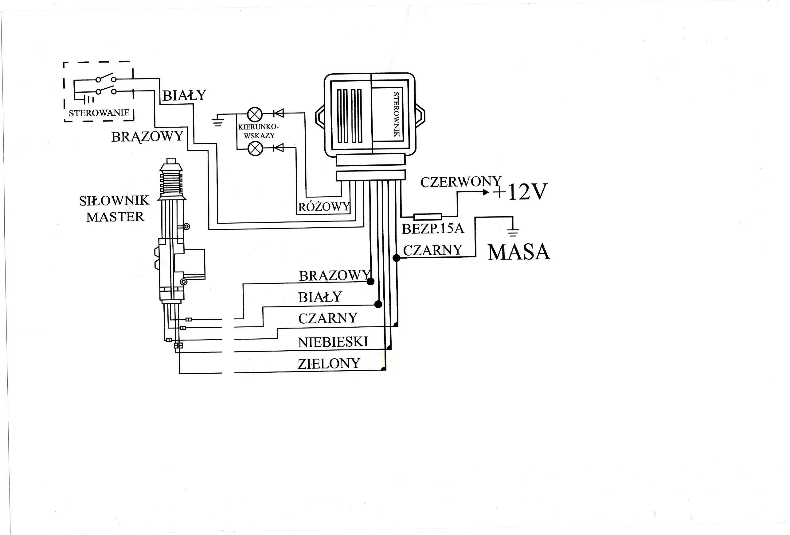 centralny zamek rtx hammer cl8