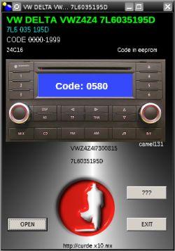 VW Delta VWZ4Z - Potrzebny kod