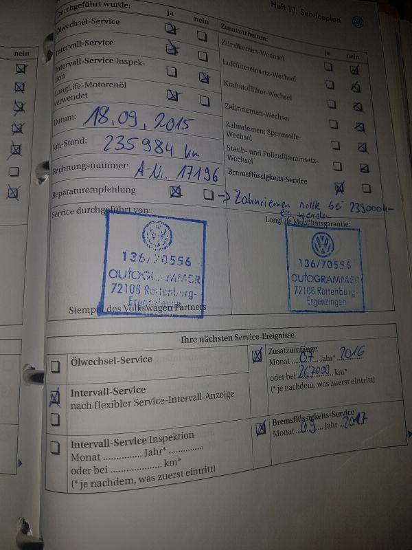 VW Golf 5, Niemiecka książka. -