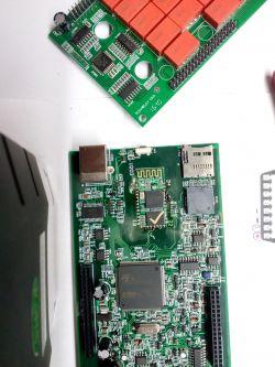 DS150e v3, montaż interfejsu bluetooth na płytce głowicy