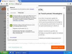 PC - Strona Allegro się nie otwiera