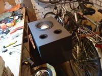 Wzmacniacz na TDA7294 z filtrem niskotonowym na TL074