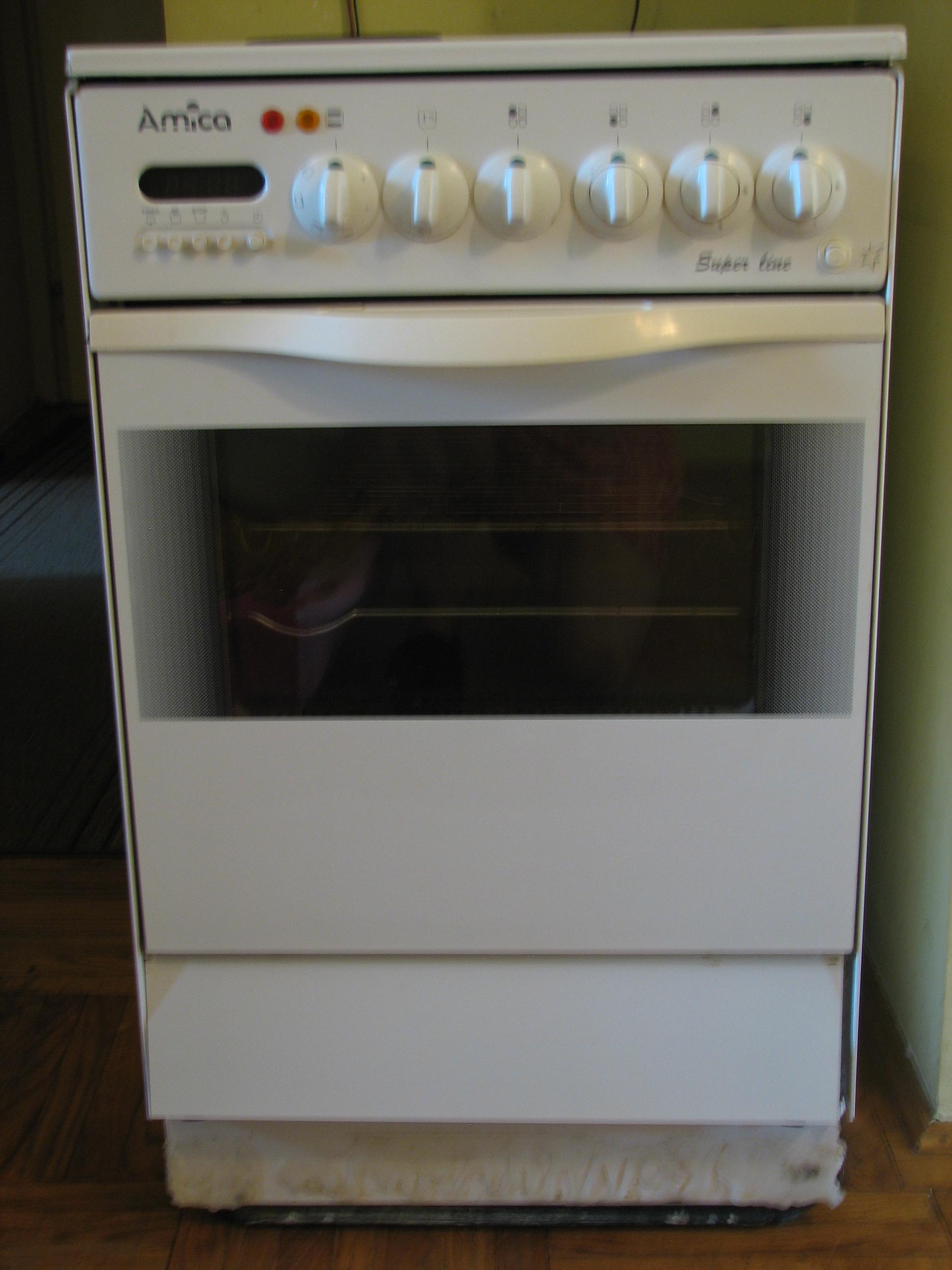 [Inne] kuchenka Amica Super Line z elektrycznym piekarnikiem i 1 palnikiem -> Kuchnia Amica Super Line Instrukcja
