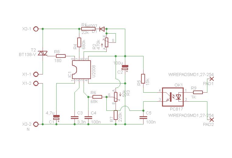 Atmega+U2008 - Jak zrealizowa� fizycznie sterowanie U2008 przez mikrokontroler?