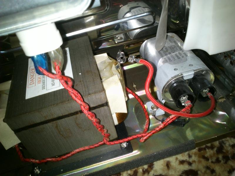 Zelmer 29Z012 - Nie grzeje, silnik nie kr�ci talerza, nie pali si� �ar�wka
