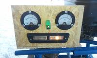 Agregat prądotwórczy z silnika od kosiarki i alternatora