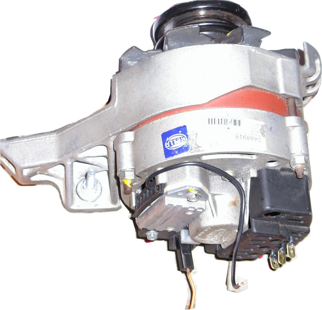 Limiting Alternator Battery Charge Power