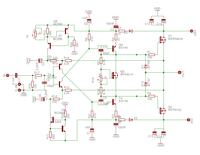 Fet-hex - kompletny projekt prostego wzmacniacza o b. dobrych parametrach