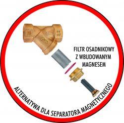 Filtry magnetyczne w systemach grzewczych c.o. opinie i doświadczenia.