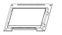 Ekspres NIVONA 830 - uszkodzony wyświetlacz, nie widać napisów