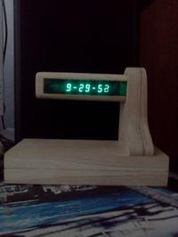 Zegar na lampie IW 18