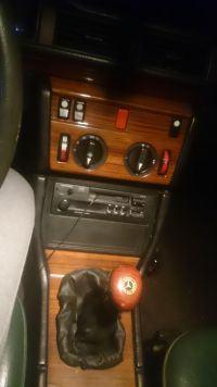 Mercedes W124 - Mercedes W124 gasną światła nawiewów