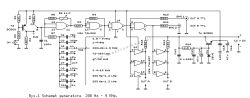Generator prostokątny TTL 20kHz-22MHz - zakłócenie przebiegu