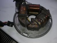 Cagiva SX 350 - Zapłon nie działa ,Brak iskry