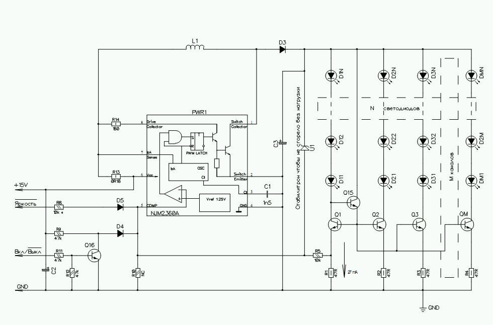 Jak pod��czy� pod�wietlanie LED za CCLF