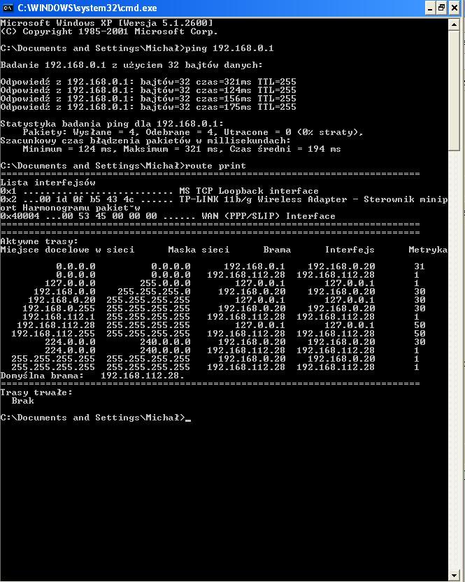 viewsonic router - Nie chce si� wczyta� strona logowania routera.