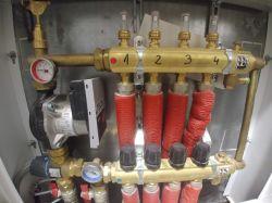 """""""dorobienie"""" inteligentniejszego sterowania w instalacji CO (podłogówk"""