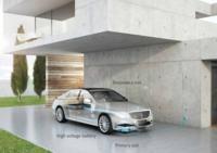 Mercedes - pierwszy bezprzewodowo ładowany samochód elektryczny