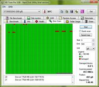 Seagate Barracuda ST3500320AS - bad sectory