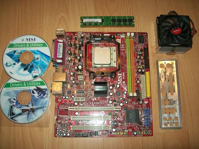 [Sprzedam] P�yta g��wna AM2 + procesor + pamie�