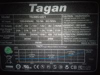 Tagan model: TG380-U01 zaniżone +12V