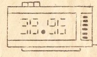 radziecki zegar budzik Elektronika 6-31 - Soviet alarm clock Э&#10