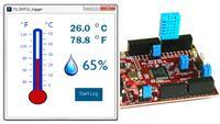 Rejestrator temperatury i wilgotno�ci na chipKIT Uno32