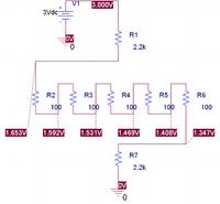 Wskaźnik przechyłu z akcelerometrem i układami 74xx