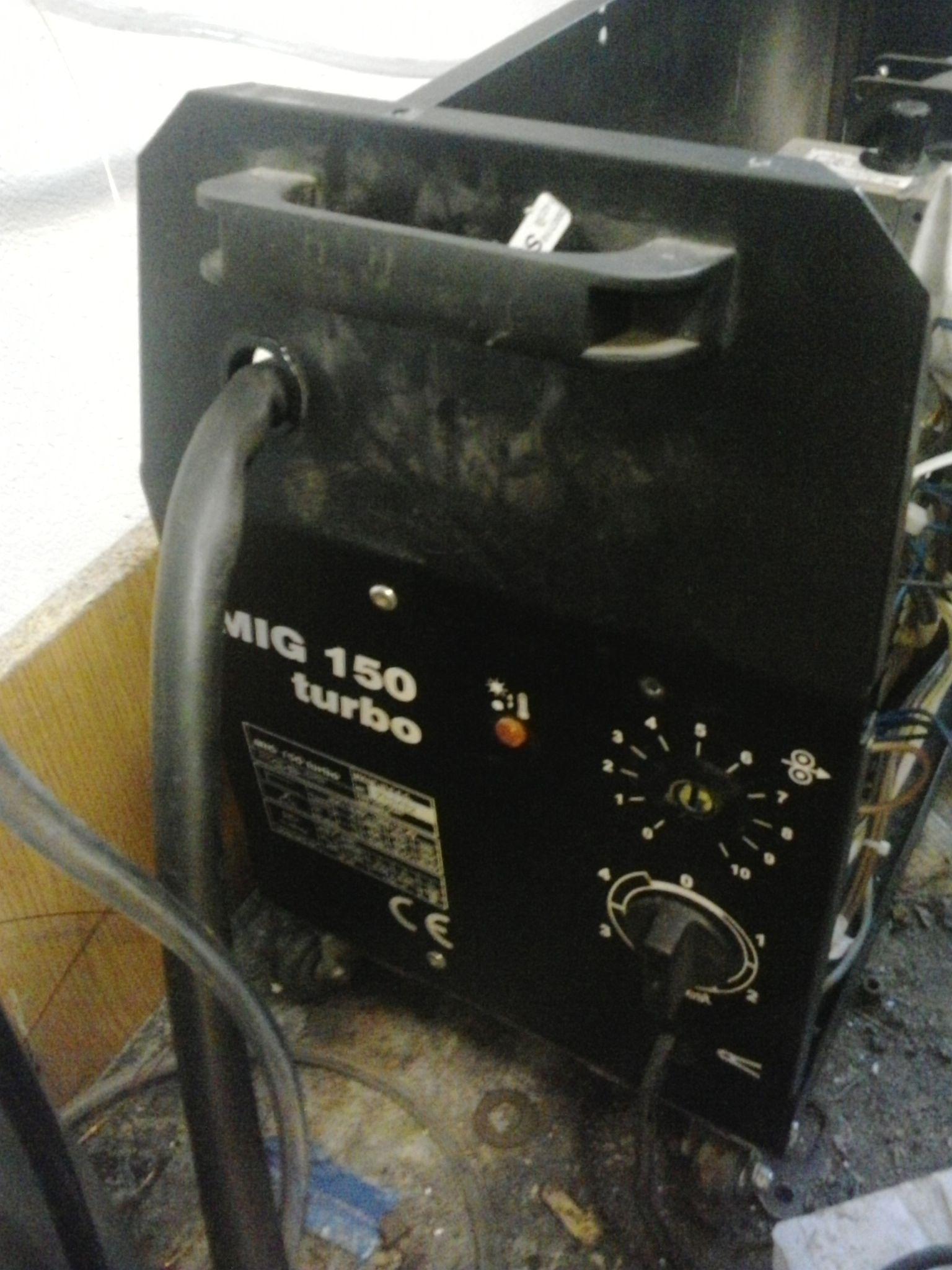Migomat turbo 150 - Uszkodzony regulator posuwu drutu