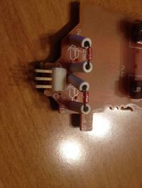 JVC RX-555 - Po��czenia pod�wietlenia wy�wietlacza