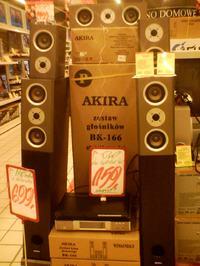 Amplituner z kolumnami - AKIRA - co to? Warto kupować?