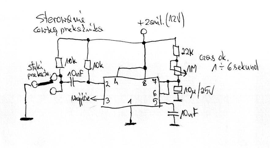 sterowanie elektromagnesem