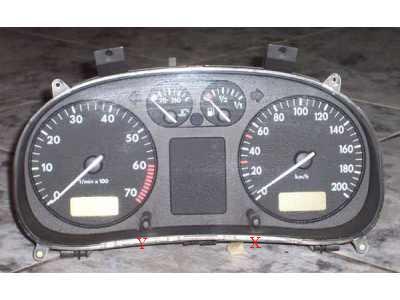 Kasowanie inspekcji oil service w VW Polo 98r