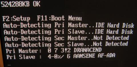 Problem z interfejsem IDE - złe nazwy dysków, zła pojemność