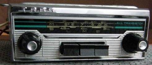 Stare Radio Samochodowe All Transistor TR 65!!!