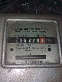 Licznik energii elektrycznej trójfazowy