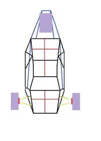 Budowa trójkołowca odwróconego ,prosze o rady :)