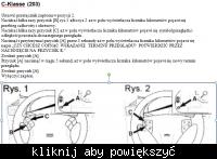 kasowanie inspekcji Mercedes C200 CDI w203